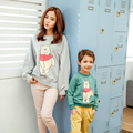 Little Bear Family Look Mother Daughter Son Clothes Mom and Daughter Matching Clothes Family Clothing Parent-Child Set NS74