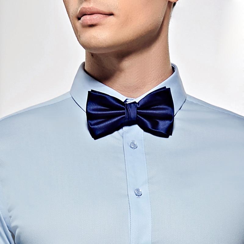 2019 New Fashion pria Dasi kupu-kupu untuk Pernikahan Mewah Navy - Aksesori pakaian - Foto 2