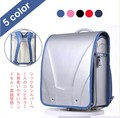coulomb Japanese comfortable bag  fit for girls and boys can put in A4 paper zipper pocket hasp school 8 color