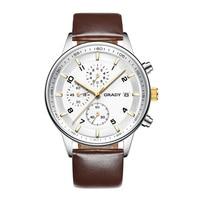 Watches Men Luxury Top Brand Grady New Fashion Men S Big Dial Designer Quartz Watch Male
