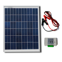 25W 12V Solar Panel System Photovoltaic Solar Panel For Small Home Lighting System RV Cabin Telecom