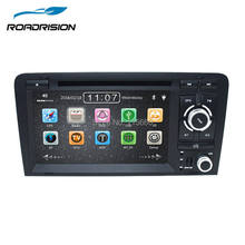 RoadRision Capacitive Screen 2Din 7Inch Car DVD Player For Audi A3/S3 2002-2011 Canbus Auto Radio GPS Bluetooth 1080P Navigation(China)