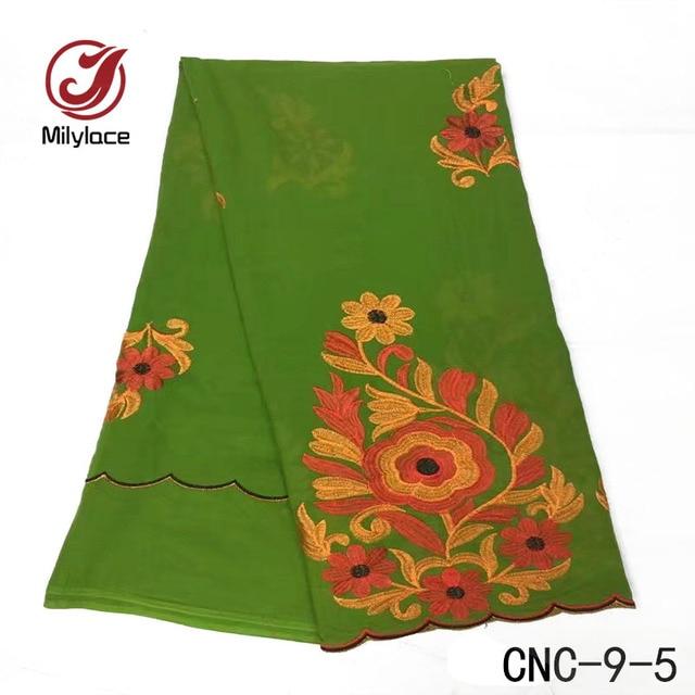 Africana del bordado suizo tela de encaje de algodón floral patrones ...