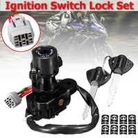 Ignition Switch Lock With 2 Keys For Suzuki GSXR 600/750/1000 2005 2006 2007 2008 2009 2010 2011 2012 2013 2017