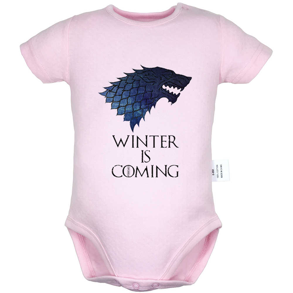 Game of Thrones crooks and castles Graffiti Art Design Newborn Baby Bodysuit Gowns Suit Toddler Onsies Jumpsuit Cotton Clothes