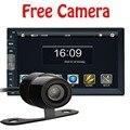 2 DIN Автомобильный DVD/GPS/MP3/mp5/usb/sd/плеер Bluetooth Handsfree Заднего Вида после Сенсорный экран hd система Радио BT