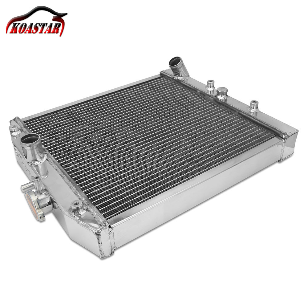 Dual Core 2 Row Silver Aluminum Radiator MT Manual for 1992-2000 Honda Civic 2 3 4 door EG EJ EK D15 D16 B16 B18 B20 цены