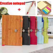 Multi-function Notebook Includes pen and post-it notes Notepad School Stationery Diary School Office Stationery 3d printing display screen motherboard display office durable accessories exquisite