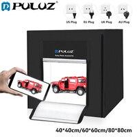 80*80 см светодиодный фотостудия Softbox 2 светодиодный свет панелей палатка Мягкая коробка + адаптер переменного тока + Фоны для телефона Камера