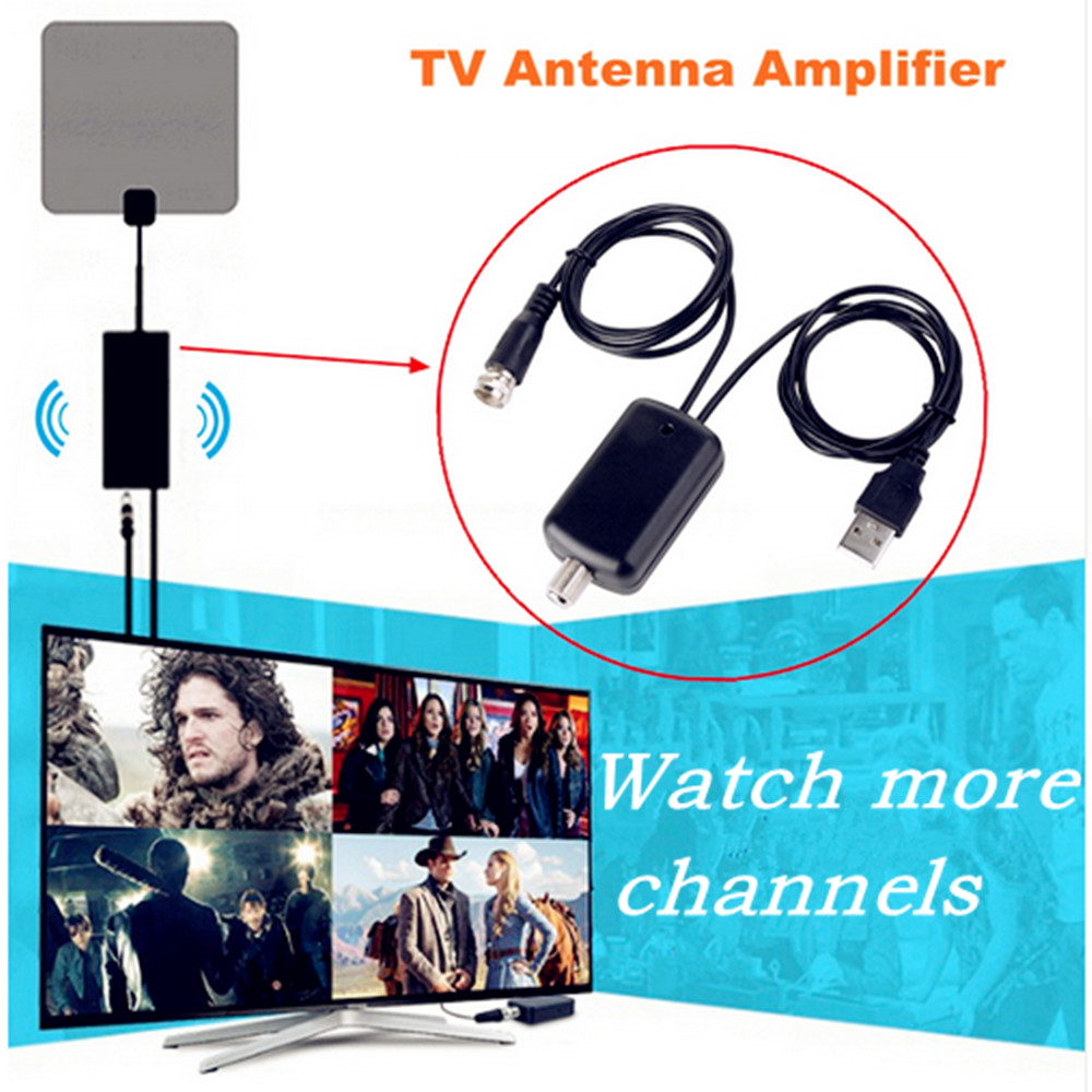 Digitale Tv Antenne Ah Link Digitale Tv Antenne Signaal Versterker Booster Indoor Hd