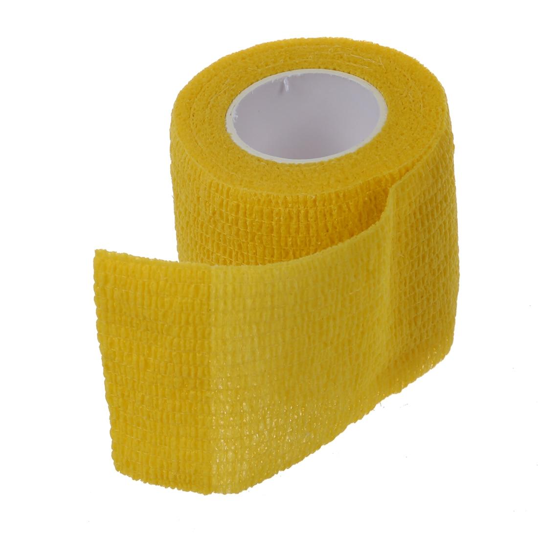 5 компл. распродажа 1 рулон кинезиологии спортивные здоровья мышцы уход Physio терапевтическая лента 4,5 м * 5 см, желтый
