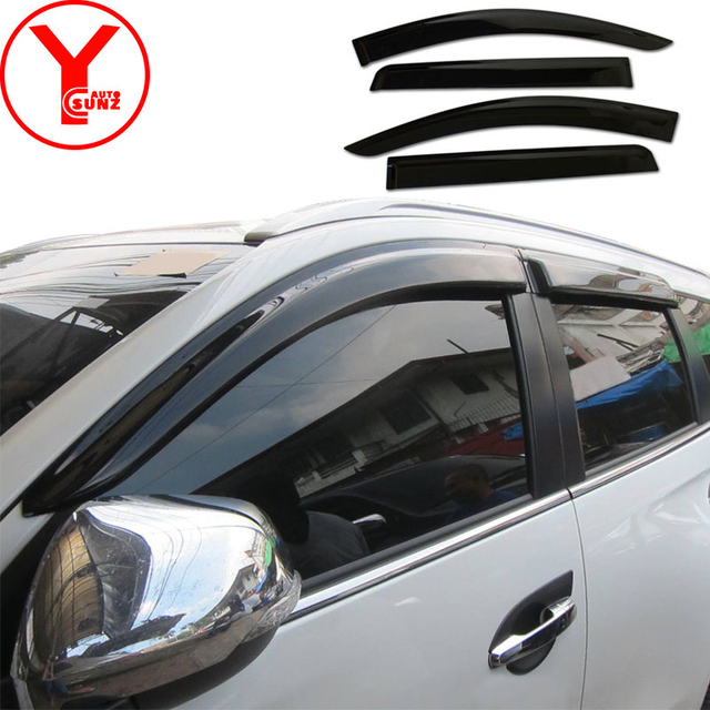 side window deflector car windshield wind protector for mitsubishi pajero sport montero Shogun 2016 2017 2018 accessories YCSUNZ