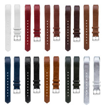 Essidi correa de cuero piezas de bucle para Fitbit Alta HR de liberación rápida reloj lazo de cinta para Fitbit Alta HR