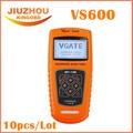 10 шт. DHL Бесплатно VS600 Vgate Сканирования Расширенный Сканер Автомобильная EOBD OBDII OBD2 Диагностика Code Reader Сканер VS600 Код сканер