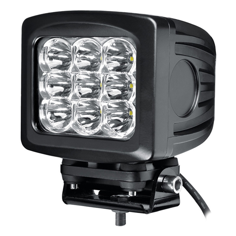 tripcraft 5.2 inch 90W LED Work Light Tractor Truck 12v 24v IP67 SPOT Flood Offroad Drive the original saic iveco hongyan jie lion iveco flag changtour version 1 24 tractor truck model