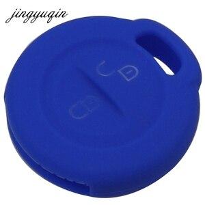 Image 4 - Jingyuqin carcasa para mando a distancia de silicona de 2 botones para Mitsubishi Colt Warior Carisma Spacestar 2 BTN, funda para mando a distancia
