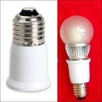 1 Pza adaptador LED E27 a E27 Base de enchufe de extensión CLF LED Bombilla convertidor adaptador de lámpara enchufe extensor accesorios de luz LED