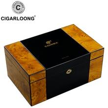 Cigar Humidor Multi-Layer Cedar Wooden Large Capacity Moisturizing Box HH-4002