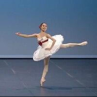 Adulti bambini Bianco Donne Balletto Tutu Professionale Concorso di Danza Costume Pattinaggio di Figura Vestito Per Le Ragazze Balletto Vestito dal tutu dans