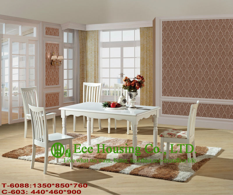 Luxurious Solid Dining Chair,Solid Wood Dinning Table Furniture With Chairs/Home Furniture