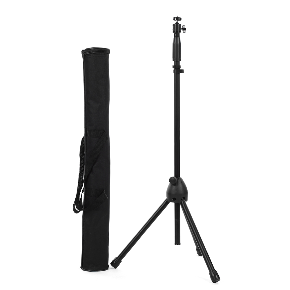 Tripod clip Portable Travel Camera Phone Tripod Monopod 55 inches Aluminum with Tilt Head and Phone Clip for DSLR Camera phone