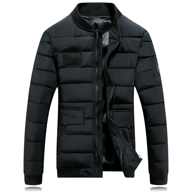 Winter Casual Mens Jackets And Coats Clothing Plus Size M L XL 2XL 3XL F16-80E