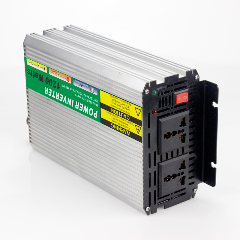 ФОТО MAYLAR@ 1pcs Modified Sine Wave DC 24V to AC 110V or 220V 1200W Car Power Inverter Converter Power Solar inverters
