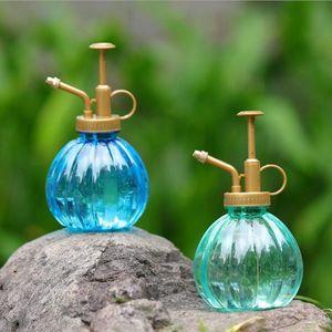 Image 3 - 350 ml 식물 꽃 물을 냄비 홈 스프레이 병 정원 핸드 프레스 물 분무기 플라스틱 분재 스프링 쿨러 병 컨테이너