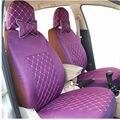 Авто сиденья фиолетовый для хэтчбек и седан сзади автомобиля назад splite 40/6 или не передний и задний материал же интерьер автомобиля охватывает