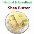 Novo 2017 Puro Óleo Essencial Orgânico Natural Não Refinado Manteiga de Karité 50g-1000g Fresco de Importação A Partir De Gana