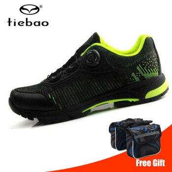 Tiebao, обувь для велоспорта, мужские кроссовки для горного велосипеда, обувь для гонок на велосипеде, самоблокирующийся горный велосипед, ...