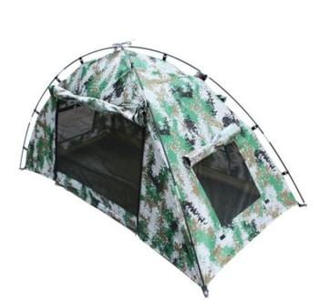 Camouflage Single Person Shooting Hunting Mountaineering Hiking Trekking Park Picnic Cycling Beach Fishing Outdoor Camping Tent