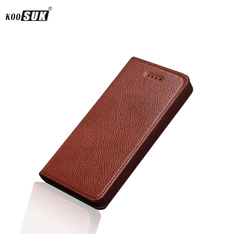 Luxury Genuine Leather Flip Case For Apple IPhone 4 4S 4G Cover Back Cases Free Shipping