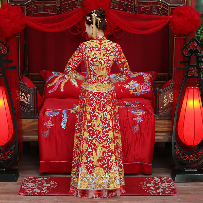 Cheongsam Embroidery Oriental Party