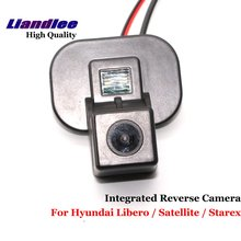 Liandlee For Hyundai Libero / Satellite / Starex Car Rear View Backup Parking Camera Rearview Reverse Camera / SONY CCD HD td04 49135 04030 28200 4a210 double nozzle turbo turbocharger for hyundai starex libero terracan galloper ii 4d56a 1 d4bh 2 5l