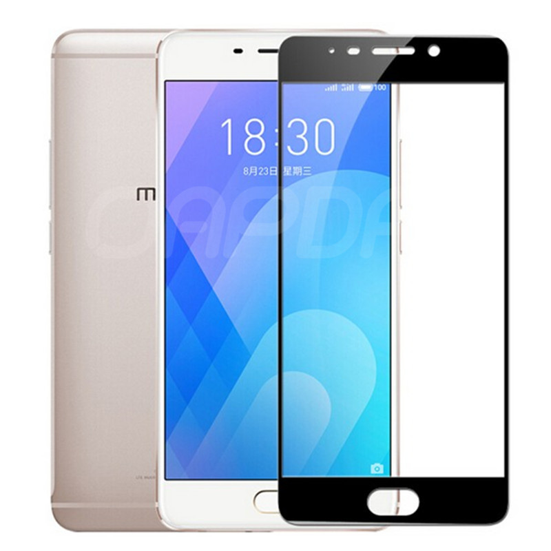 Image 5 - 9D Tempered Glass on the For Meizu M6 M5 M3 Note M6S M6T M5S M5C M3S M8 Pro 7 Plus Screen Protector Protective Glass Film Case-in Phone Screen Protectors from Cellphones & Telecommunications