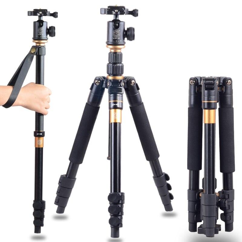 DHL Penghantaran Percuma Kualiti Tinggi Q-570 Portable Pro Tripod - Kamera dan foto - Foto 1