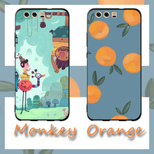 Cartoon orange monkey Phone Cases Cover for Huawei P30 lite pro Case nova 3i Mate 20 P smart 2019