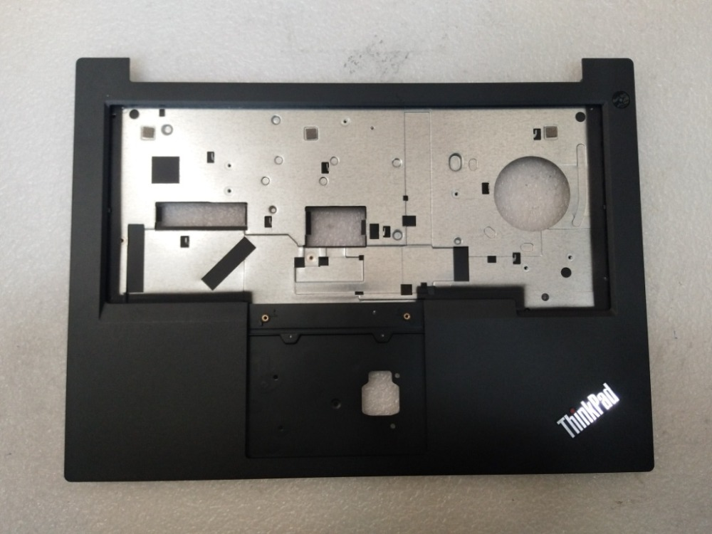 New Original For Lenovo ThinkPad E480 E480C E485 Palmrest Keyboard Bezel Upper Case Housing Empty Cover 01LW157 AP166000100 new original for lenovo s300 s310 empty palmrest keyboad bezel cover upper case silver