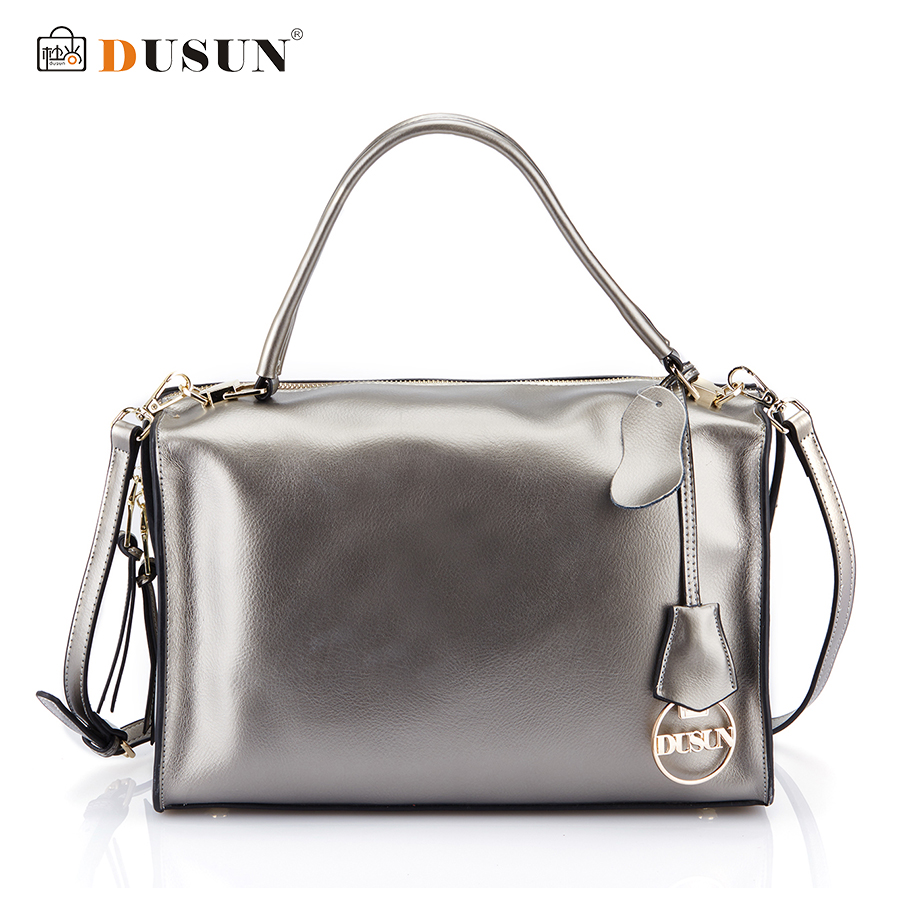 Dusun Brand Design New Genuine Leather Bag Vintage Handbag Womens Messenger Bag Tote Bags Crossbody Casual Shoulder Bag Handbag vintage canvas messenger bag high quality womens crossbody bags bend zipper design casual small flap tote bag
