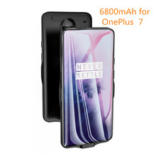 6800mAh Portable Power Bank Charging Case for Oneplus 7 Battery Charger Case for Oneplus 7 Pro Shockproof Battery Cover