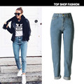 2017 Spring New Pencil Jeans Women Females Skinny Fashion Light Blue Cotton Soft Stretch Denim Pants Jeans For Women Clothing