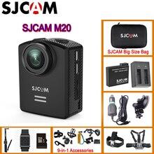 SJCAM M20 Gyro Mini Action Helmet Sports DV Camera 30M Waterproof 4K 24fps 2K 30fps NTK96660 16MP With RAW Format Original M20