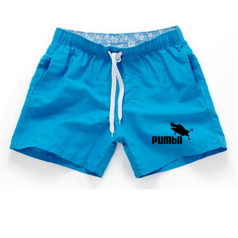 Shorts Mens Bermuda 2018 Summer Beach Men Shorts Pumba Letter Print Male Brand Men'S Short Casual Fitness Jogger Plus Size 3XL