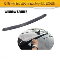 GLE Class Carbon Fiber Race rear Window Spoiler Lip Wing for Mercedes Benz C292 Sedan Sport AMG GLE43 GLE63 15 17 Not Standard