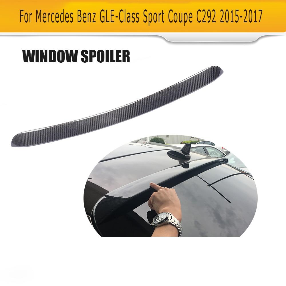 Toit Spoiler Aile pour Mercedes-Benz C292 Berline Sport AMG GLE43 GLE63 2015-17 Pas Standard GLE Classe fenêtre De Fiber de carbone Spoiler