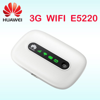Unlocked 3g wifi wireless Router Huawei E5220 HSPA+ HSPA UMTS 3g wifi router with sim card slot pocket dongle