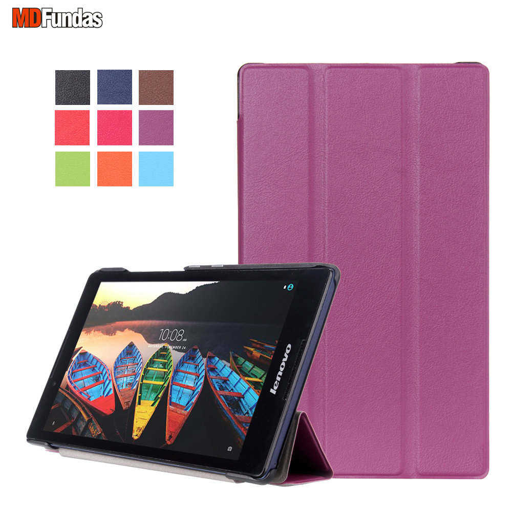 MDFUNDAS Coque font b Tablet b font For Lenovo Tab3 8 For Lenovo TAB 2 A8