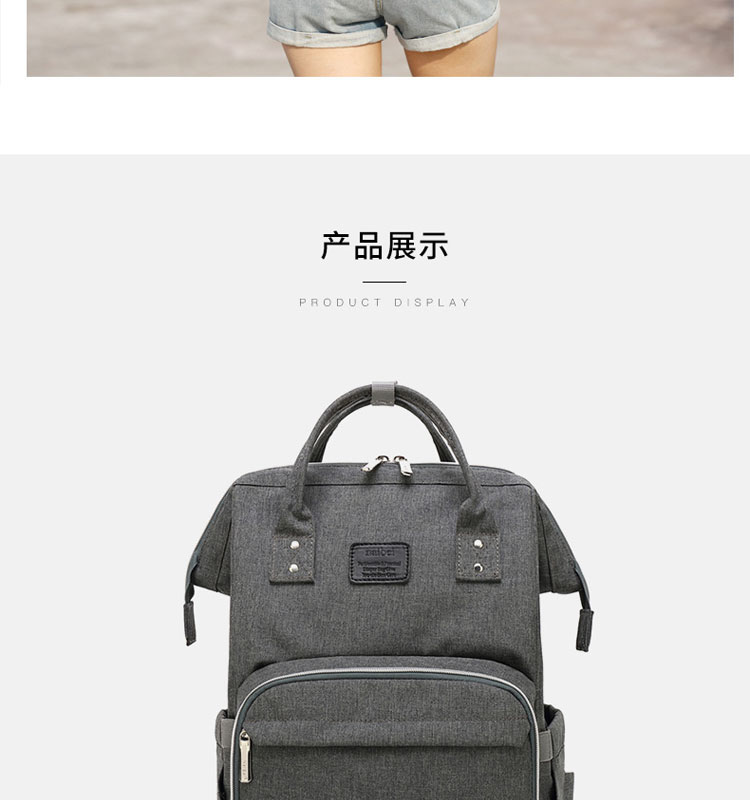 HTB1eSnOefWG3KVjSZPcq6zkbXXaH Nappy Backpack Bag Mummy Large Capacity Bag Mom Baby Multi-function Waterproof Outdoor Travel Diaper Bags For Baby Care