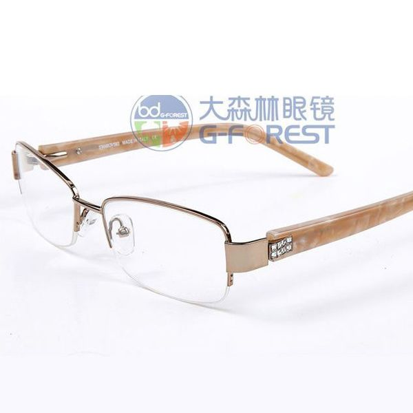 41597254e2 prescription glasses Rhinestone glasses women optical glasses round metal frame  glasses spectacle frame oculos de grau SW7004-in Eyewear Frames from  Women s ...